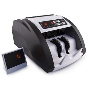 Money Counter Machine With Uv mg And Counterfeit Bill Detection Home Office