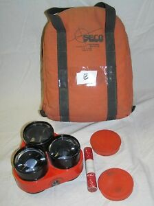 Seco Land Surveying Triple Tilting Prism Assembly Protective Carrying Bag E