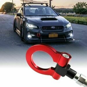 Red Track Racing Cnc Aluminum Tow Hook For Subaru Outback Legacy Impreza 2018
