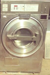 Used Continental 30lb Coin Laundry Commercial Washer Extractor 1 phase