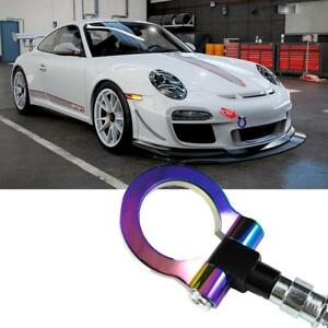 Red Track Racing Style Aluminum Tow Hook For Porsche 911 991 Carrea Panamera 970