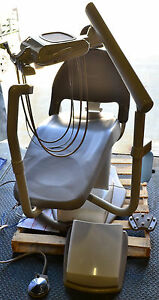 Midmark 153592 003 Ultracomfort Dental Chair With Delivery Unit Beige 2007
