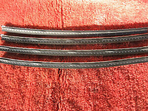 Chevy Olds Caddy T bird Nos Dot Trico Rubber 13 Refills Dated 1958 2 Pair