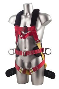 Psa Belt Fall Protection Full Body Harness Climbing Dishes Safety