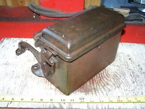 Fordson Antique Farm Tractor Spark Coil Box 26 27 Ford Model T Hit Miss Engine