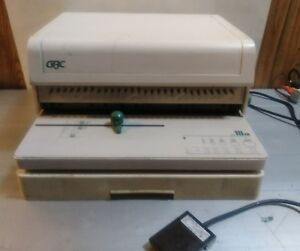 Gbc 111pm 28 Hole Binding Machine Paper Punch W Foot Pedal