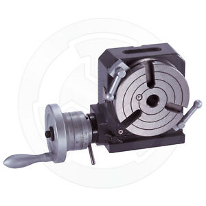 Vertex Horizontal And Vertical Rotary Table 4 Inches Hv 4 1001 000