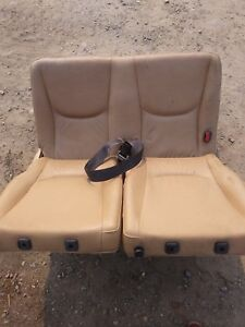 98 05 Mercedes Ml320 Rear Driver Side Seat Sand