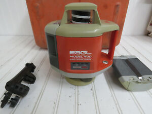 Agl Eagl Model 400 Electronic Level With Hard Case