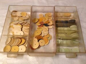 Dental Instruments Grinding Disks Large Lot Various Sizes And Grits