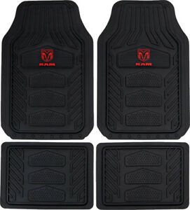 Officially Licensed All Weather Pro Heavy Duty Rubber Floor Mats For Dodge Ram
