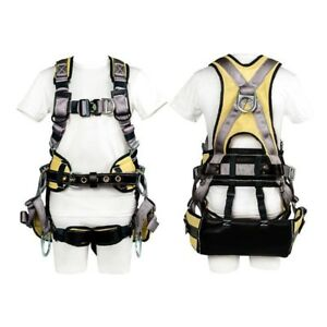 Buckingham Large Tower Climbing Harness Fall Protection 61955q1