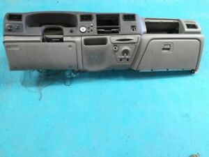 00 01 02 Ford Super Duty F250 Complete Gray 2 Tone Dash Assembly W Bezel Trims
