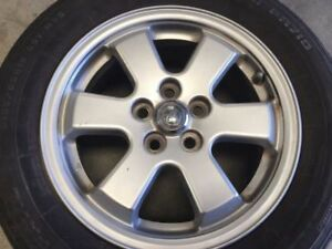 15x6 5 Lug Toyota 5 Spoke Wheel Only Pulled From A 97 Chevy Cavalier 18164