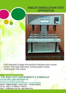 Tablet Dissolution Apparatus Six Stage Newly Finished Brand Indosati
