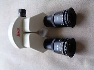 Leica Stereo Binocular With 10x Eyepieces Opmi Surgical Operating Microscope