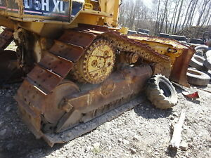 Caterpillar D5h Xl Tracks Pads Chains 90 Crawler Dozer Tractor Cat D5