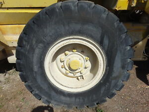Volvo L70c Wheel Loader One Tire Rim 20 5 25 Nice Wheel L70 Michigan