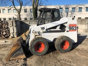 1998 Bobcat 963 Skid Steer Loader 2 Speed Low Hours