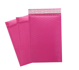 250 0 6x10 Pink Poly Bubble Padded Envelopes Mailers Shipping Case 6 x10