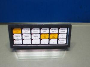 Okuma Okuma Mc4va Cnc Mill Numerical Keypad E0189 653 015