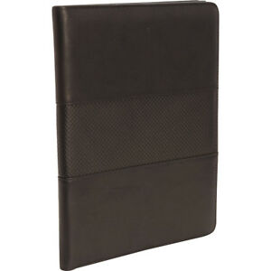 Bellino Memo Pad Holder Black Business Accessorie New