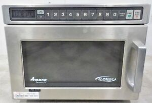 Amana C max 1000w Stainless Steel Commercial Microwave hdc102