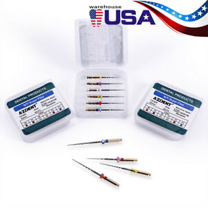Usps 5 100 Packs Dental Endodontic Engine Use Niti Super Rotary Files Sx f3 25mm
