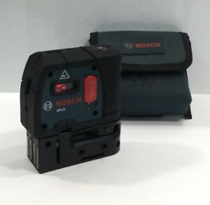 Bosch Professional 5 Point Self Leveling Gpl 5 Alignment Laser Gpl5 W Case