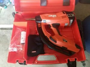 New Hilti Gx 3 Gas actuated Fastening Tool replaces Gx 120 Gx3 Gx 3