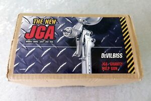 Devilbiss Hvlp Gravity Feed Auto Paint Sprayer Gun Jga 635g 14 1 8 Fluid Tip