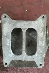 Corvair 4 Barrel Adapter For Single Carburetor Engines Adapter Only