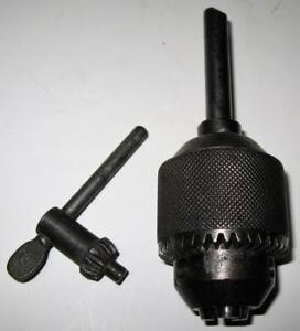 Jacobs No 3 Drill Chuck With Jacobs 3 Series Key For 3 8 Shafts