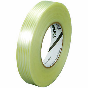 Tartan 3m 8932 Strapping Tape 3 75 Mil 1 2 X 60 Yds Clear 12 case T913893212pk