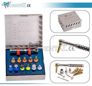Dental Bone Expander Kit Sinus Lift With Saw Disks Dental Implant Instruments