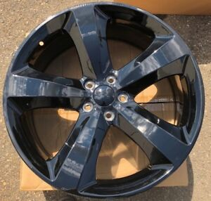 One 2011 2012 2013 2014 20 X8 Wheel Rim Fit Dodge Charger Challenger Black New