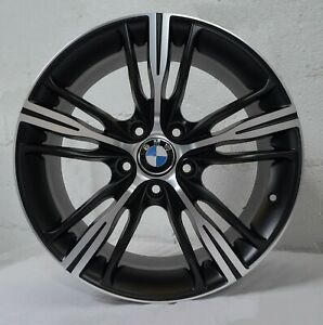 4 Wheels 18 Inch Matte Black Rims Fits Bmw 3 Series Sedan E90 2006 2011