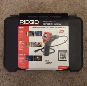 Ridgid Micro Ca 25 Handheld Inspection Camera With Color Lcd Screen 40043