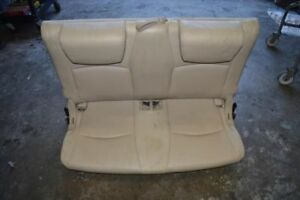 2004 2005 2006 2007 Toyota Highlander Rear Seat Third Row Bench Tan Limited