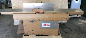 Sicma 13 Dt330 Jointer Woodworking Scmi Italy