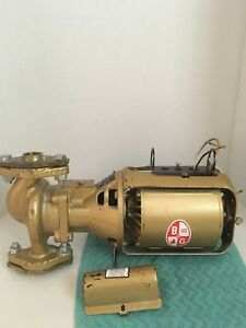B g Recirculation Pump Recirculating Pump Bell Gossett Series 100 Ab Bronze