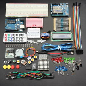 Geekcreit Uno R3 Basic Starter Learning Kit No Battery Version For Arduino
