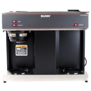 Commercial Coffee Brewer Bunn With 3 Warmers 12 cup Pour Over Top Quality Black