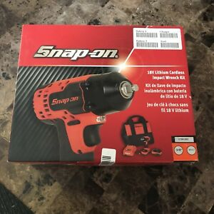 Snap On 3 8 Drive 18v Cordless Impact Ct8810b0