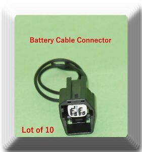Lot 10 X 2 Wires Battery Cable Connector Pt1521 For Buick Cadillac Chevrolet Gm