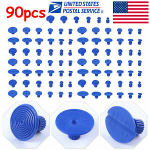 90pc Pdr Glue Pulling Tabs Paintless Dent Repair Hail Removal Kit For All Puller