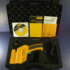 Fluke 576 Precision Ir Infrared Thermometer With Thermocouple