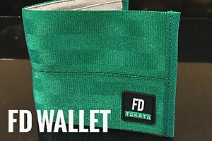 Takata Wallet Green Seatbelt Limited Edition Jdm Fd Drift Brand New Version