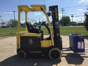 Hyster E60xn Lift Truck W Infinity Pei 24 10 Charger