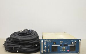 Lecroy Hv4032a High Voltage Power Supply W 8 Modules And Cables 15403 J34